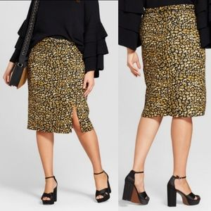 🆕 Who What Wear | Animal Print Pencil Skirt